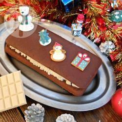 Recette bûche de noël aux deux chocolats (vegan & sans gluten ...