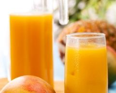 Recette jus de fruits multivitaminé