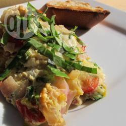 Recette œufs brouillés aux tomates cerises – toutes les recettes ...