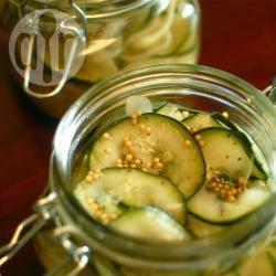 Recette concombres marinés au vinaigre – toutes les recettes ...