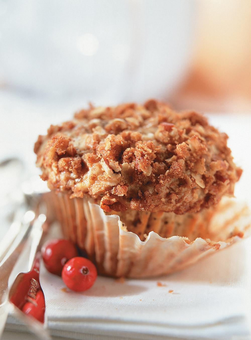 Muffins aux canneberges et au citron | ricardo