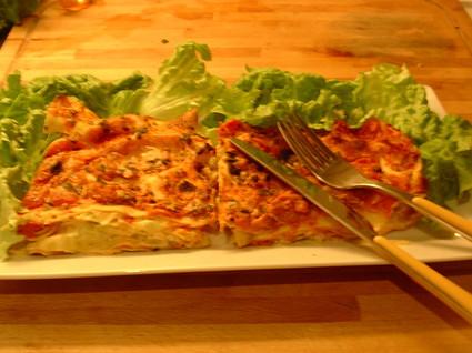 Recette de lasagnes aux poireaux
