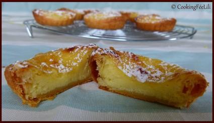 Recette de flan portugais pastéis de nata