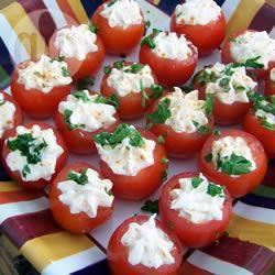 Recette tomates cerises farcies à la crème de crevettes – toutes les ...