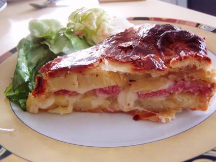 Recette de tourte traditionnelle francomtoise