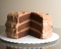 Recette gâteau meringué chocolat et café