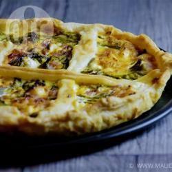 Recette quiche aux asperges vertes et jambon blanc – toutes les ...