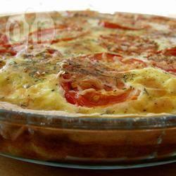 Recette quiche à la truite fumée et à la tomate – toutes les recettes ...