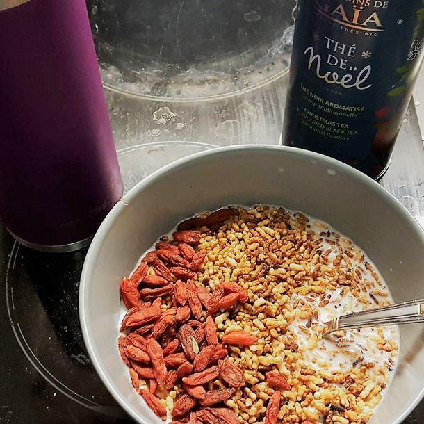 Recette riz soufflé à la cannelle