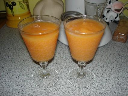 Recette de soupe de melon
