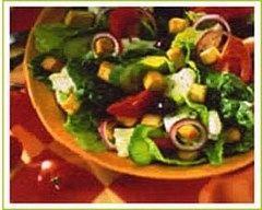 Recette salade grecque aux petits légumes