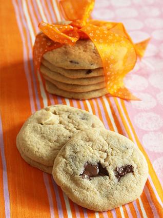 Recette de cookies aux pépites de chocolat délicieux