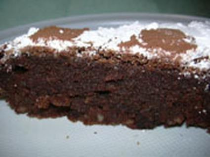 Recette de caprese (gâteau au chocolat et amandes)