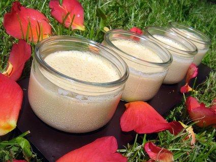 Recette de petites crèmes à la confiture de lait