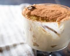 Recette tiramisu aux pommes caraméllisées et café