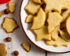 Recette biscuits de noël aux noisettes