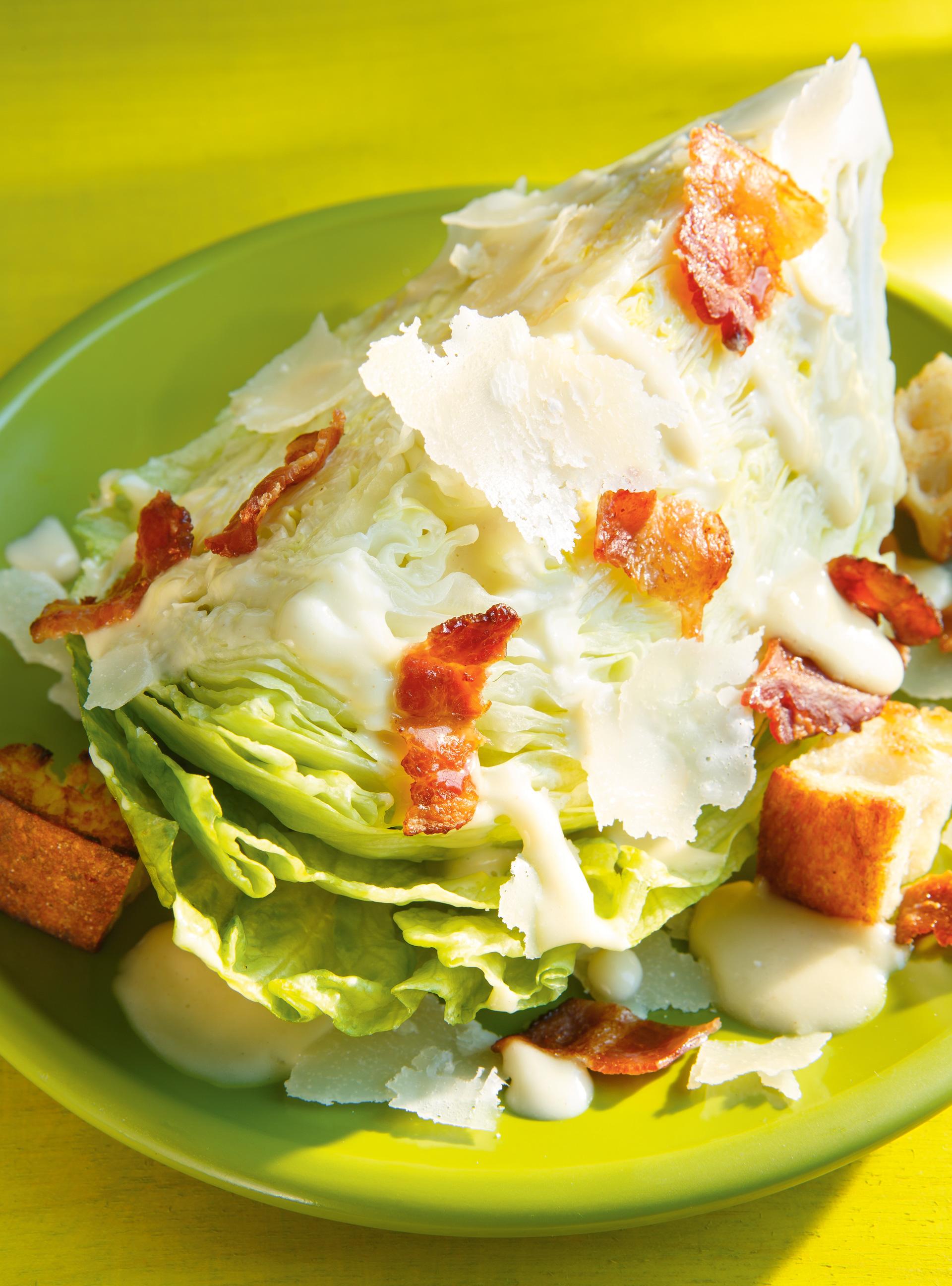 Salade césar iceberg | ricardo