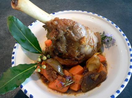 Recette de tajine de souris d'agneau aux figues et patates douces ...