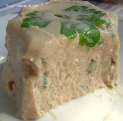 Recette de mousse de thon en gelée