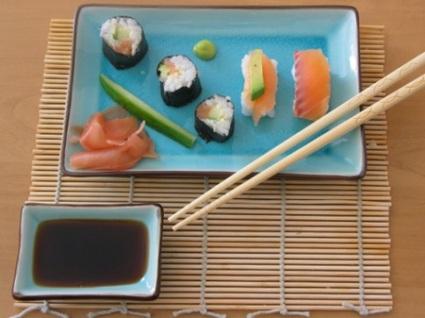 Recette sushis et makis (poisson)