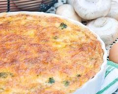 Recette quiche sans pâte thon et gruyère