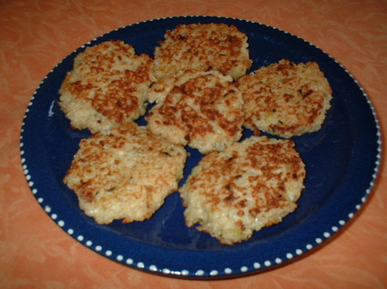 Recette de galettes de quinoa