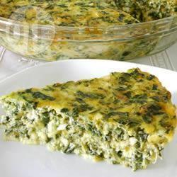 Recette quiche sans pâte aux épinards – toutes les recettes ...