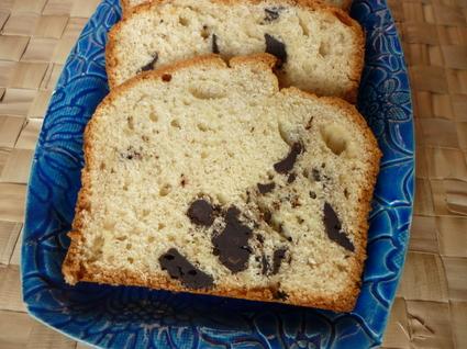 Recette de cake à la banane et pépites ede chocolat