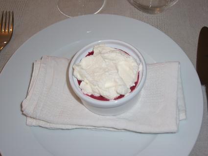 Recette de cappuccino de fruits rouges au mascarpone