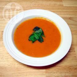 Recette soupe crémeuse aux tomates et basilic – toutes les ...