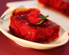 Recette tarte framboises et cannelle