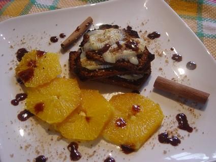 Recette de mille-feuilles de pain d'épices au pralin