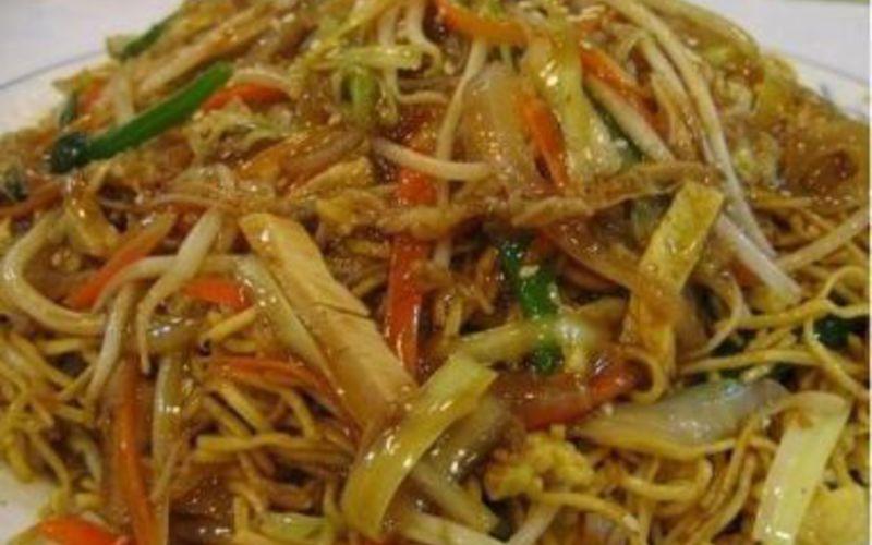Recette Nouilles Au Poulet Et Curry Vert Pas Chère Et Simple Cuisine étudiant