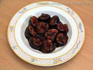 Figues rôties au vinaigre balsamique  fiche recette avec photos ...