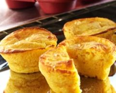 Recette muffins aux carottes et chèvre
