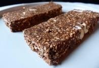 Recette de barres chocolatées au quinoa soufflé