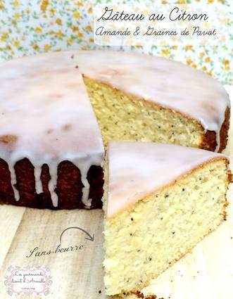 Recette de gâteau au citron, amandes et graines de pavot (sans ...