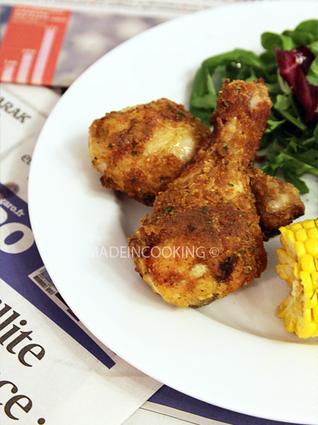 Recette de poulet frit au paprika