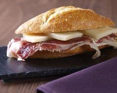 Recette bocadillos au jambon et fromage espagnol