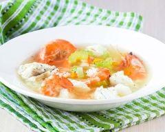 Recette soupe de poisson à la norvégienne
