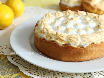 Recette de tarte au citron et au mascarpone meringuée