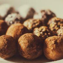 Truffes au chocolat et grand marnier