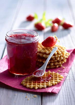 Recette de confiture fraise-verveine