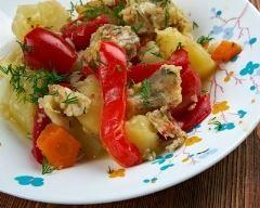 Recette caldeirada (râgout de poisson et légumes portugais)