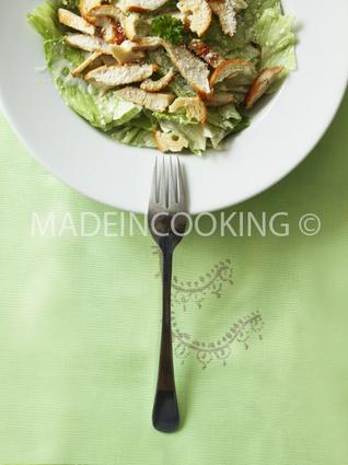 Recette de salade césar ou caesar