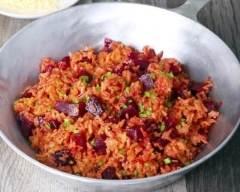 Recette risotto à la betterave