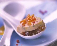 Recette foie gras de canard grillé, chutney d'abricot
