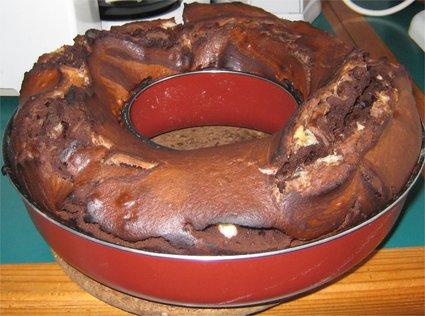 Recette de gâteau au yaourt aux deux chocolats