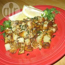 Recette pommes de terre à la coriandre et à l'ail – toutes les ...
