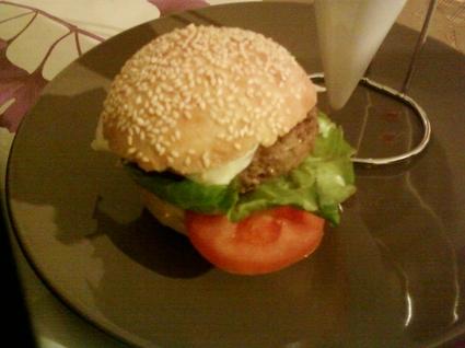Recette hamburger maison (sandwich)